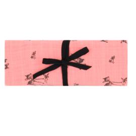 Rose in April Hydrofiele doek Hertje - Blush Roze (70x70cm)