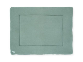 Jollein Boxkleed Basic Knit - Forest Green (80 x 100 cm)