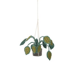 KidsDepot Hangende Plant Vilt - Big Leaves