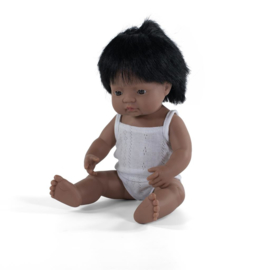 Miniland Pop Latijns Amerikaans - Boy (38 cm)