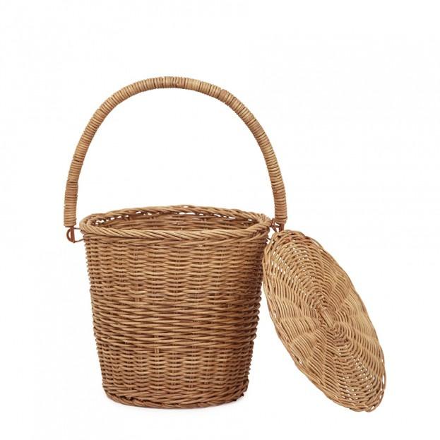 Olli Ella Large Apple Basket - Naturel