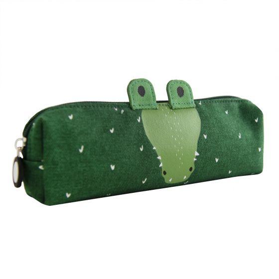 Trixie Pennenetui Lang Mr Crocodile - Groen
