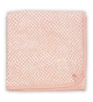 Jollein Deken Jersey Snake - Pale Pink (75 x 100 cm)