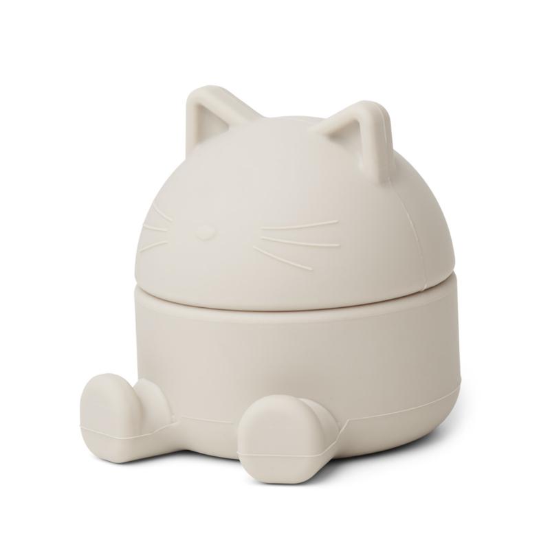 Liewood Bewaardoosje Margaret Treasure Box Cat - Sandy