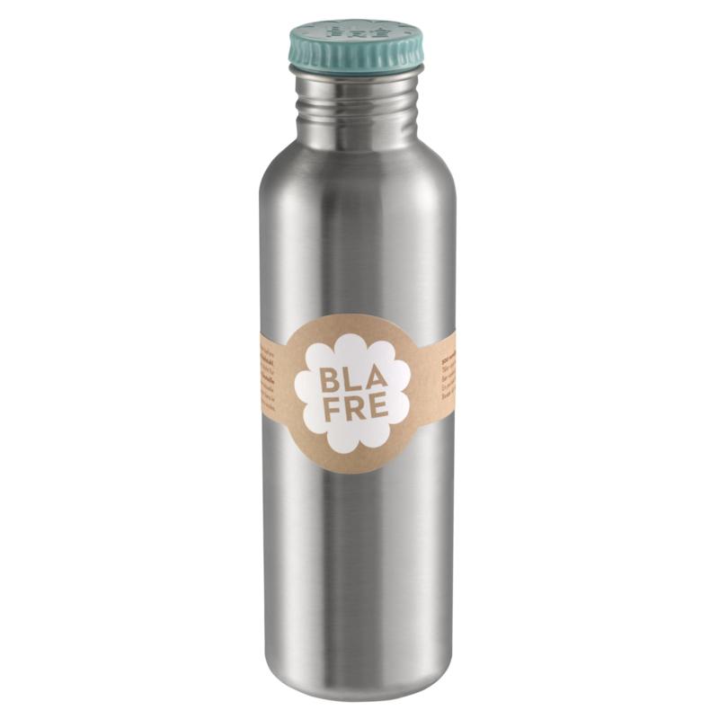 Blafre Drinkfles RVS - BlauwGroen / Jade (750ml)