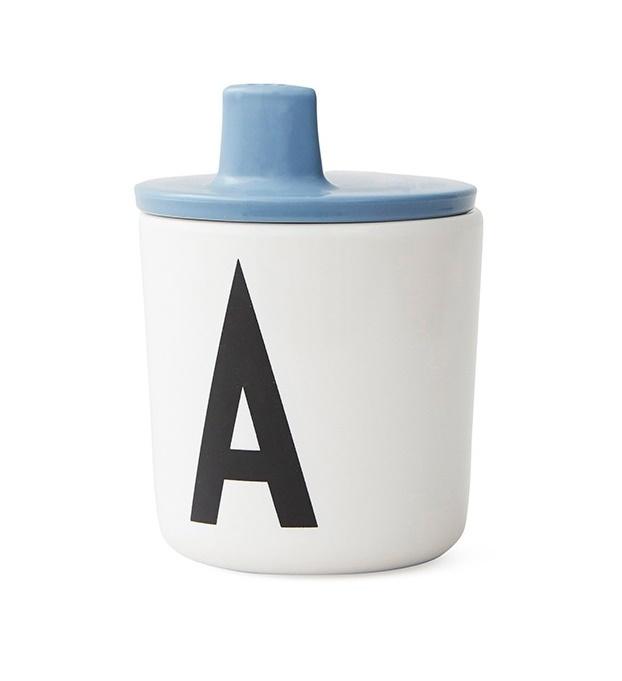 Design Letters Tuit voor op melamine Beker - Blauw