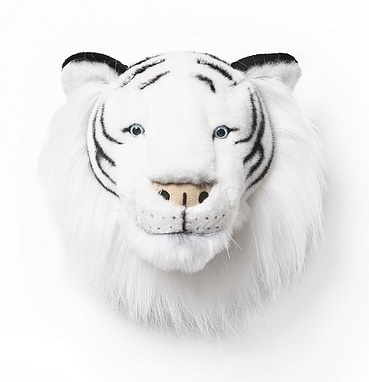 Wild and Soft Dierenkop - Witte Tijger