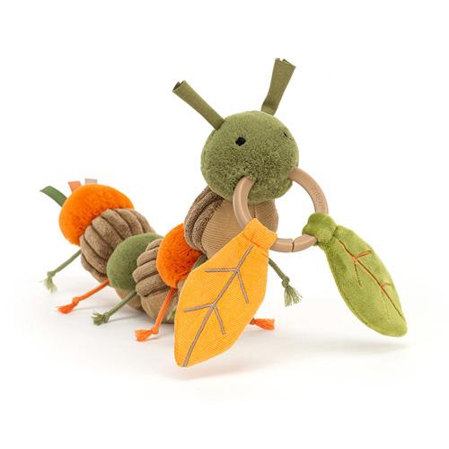 Jellycat Activity Toy Rups - Christopher Caterpillar