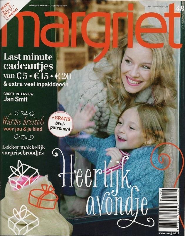 Publicatie - Margriet 1 - 11/2012