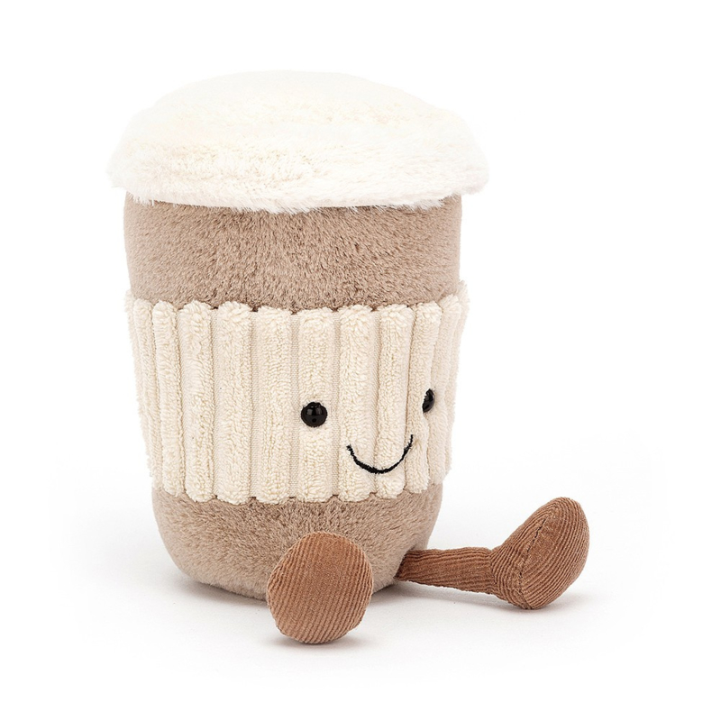 Jellycat Amuseable Coffee To Go - Knuffel Koffie To Go