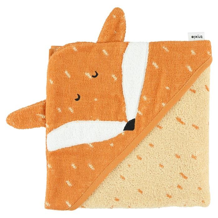 Trixie Badcape Hooded Towel Mr. Fox - Vos