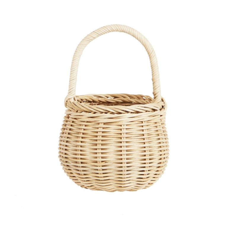 Olli Ella Opbergmand Berry Basket - Straw