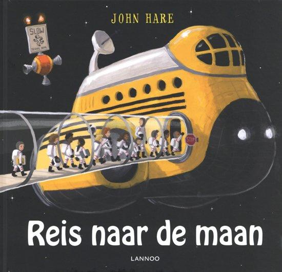 Uitgeverij Lannoo Reis naar de Maan - John Hare (op=op)