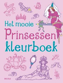 Uitgeverij Deltas Het mooie Prinsessen Kleurboek