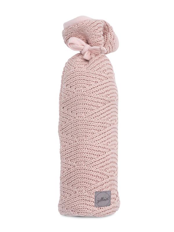 Jollein Kruikenzak River Knit - Pale Pink