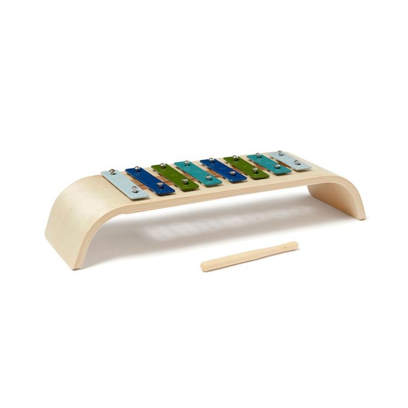 Kids Concept Houten Xylofoon - Blauw