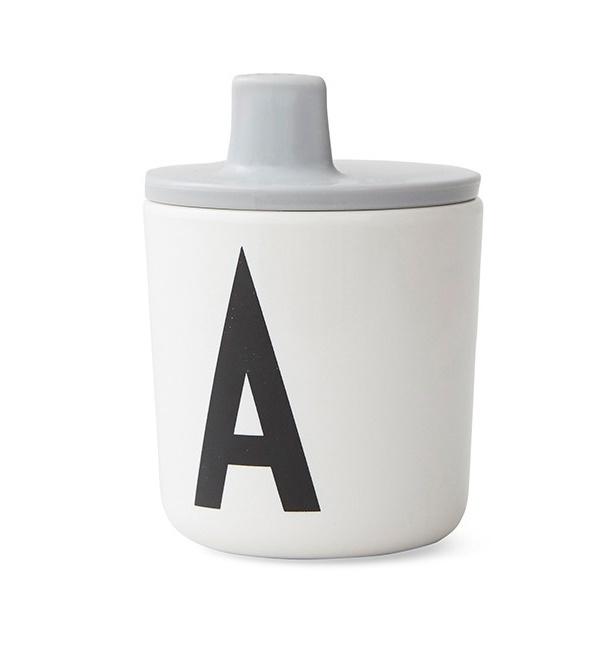 Design Letters Tuit voor op melamine Beker - Grijs