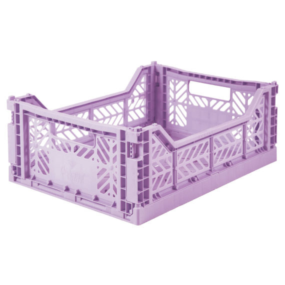 AyKasa Folding Crate Midi Box - Orchid