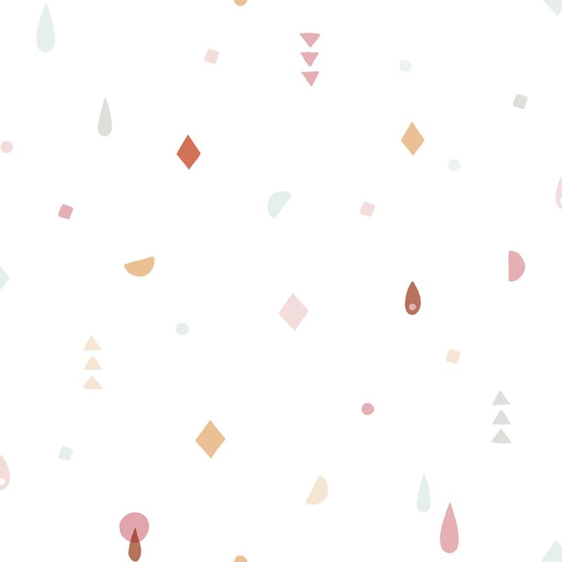 Lilipinso Paradisio Behang - Mini Modern Geometric