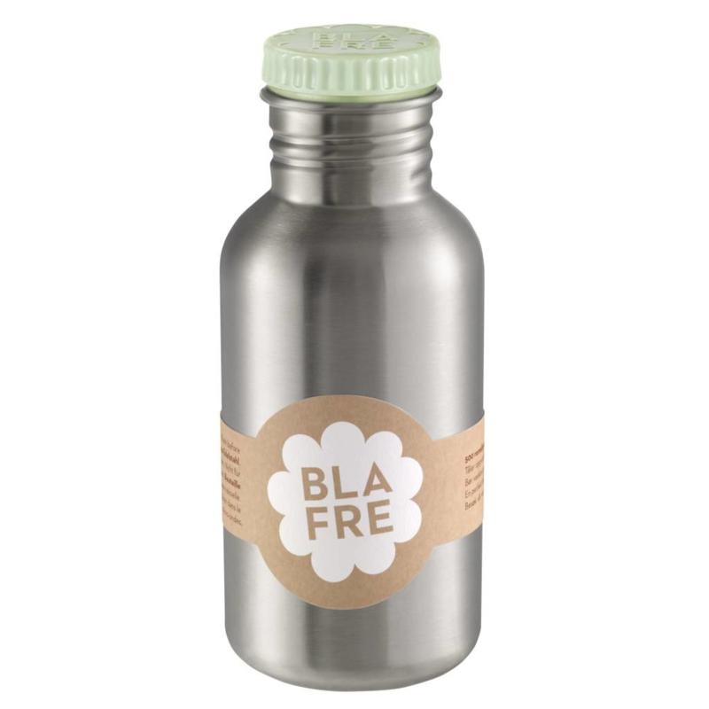 Blafre Drinkfles RVS - Licht Groen (500ml)