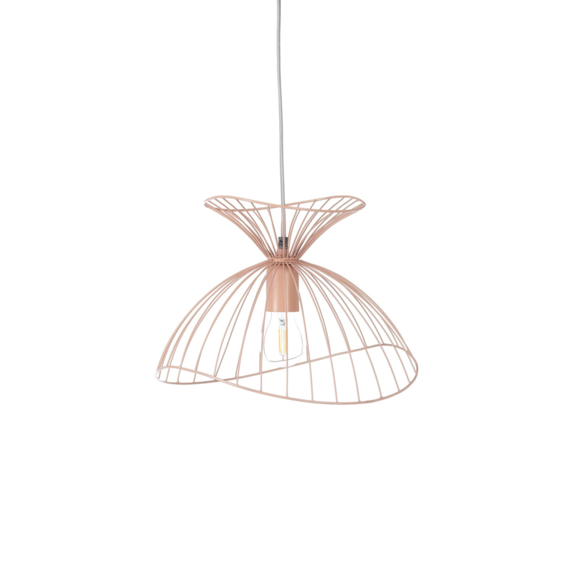 KidsDepot Hanglamp Jackie Pink - Roze