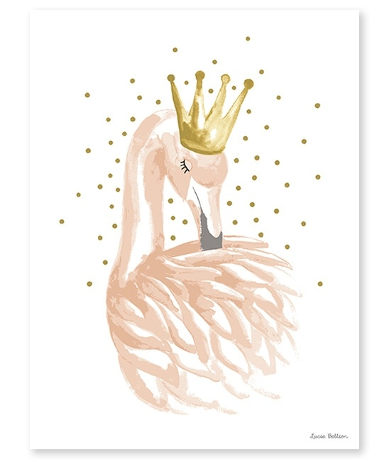 Lilipinso Flamingo - Poster (P0180)