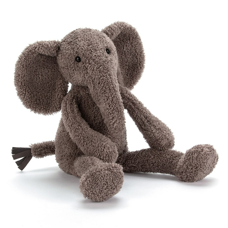 Jellycat SlackaJack Elephant - Knuffel Olifant