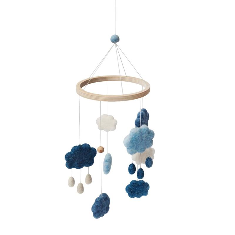 Sebra Babymobiel Wolken - Denim Blue Blauw