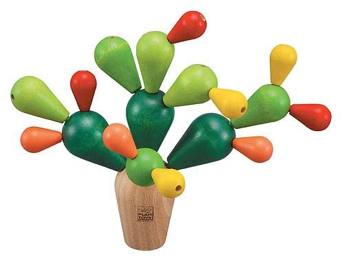 Plantoys Houten Balanceerspel Cactus