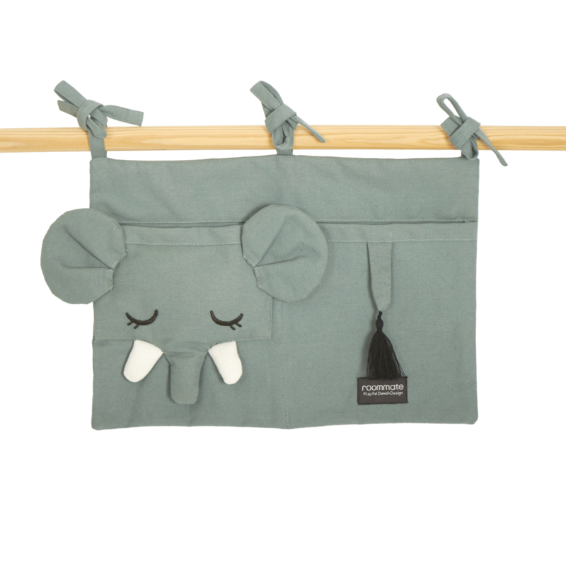 Roommate Box Opbergzak Olifant - Sea Grey