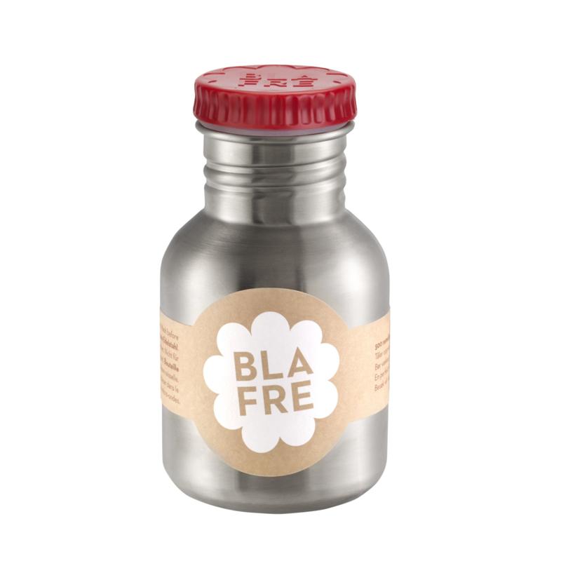 Blafre Drinkfles RVS - Rood (300ml)
