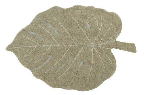 Lorena Canals Vloerkleed - Monstera Leaf Olive
