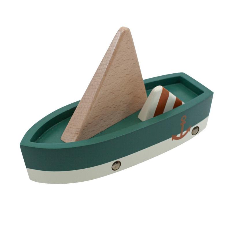 Sebra Houten Zeilboot - Sailing Boat