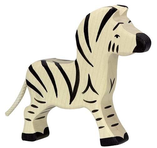 Holztiger Zebra - Klein (80153)