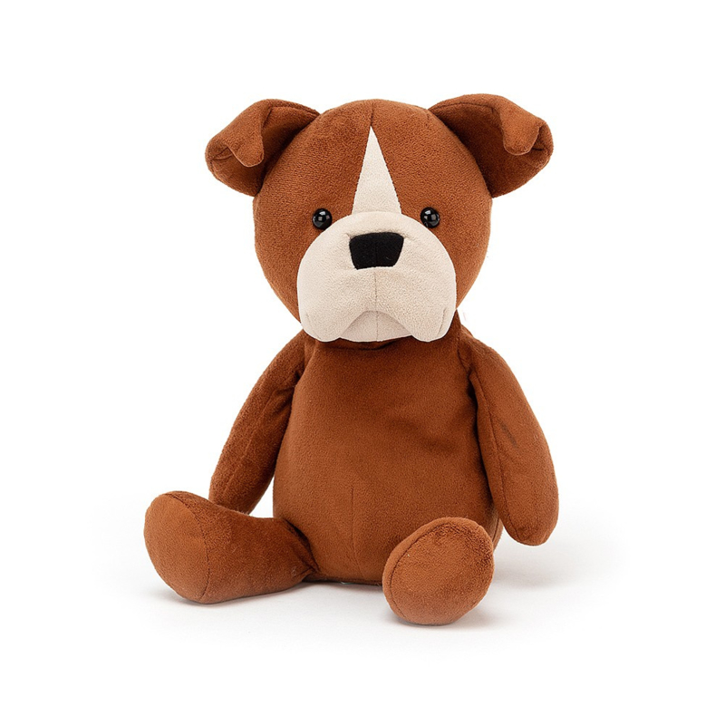 Jellycat Puppy Pals Bruno Boxer - Knuffel Boxer