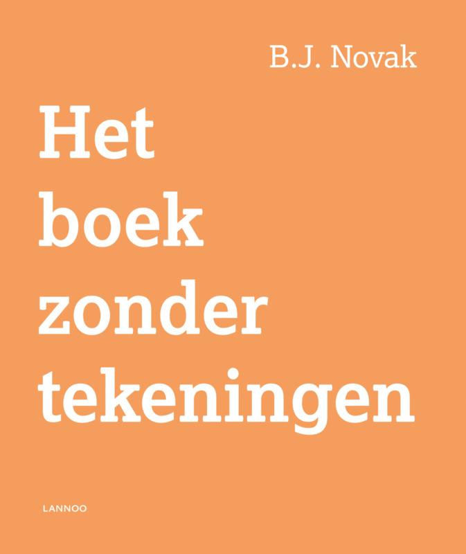 Uitgeverij Lannoo Het boek zonder Tekeningen - Novak