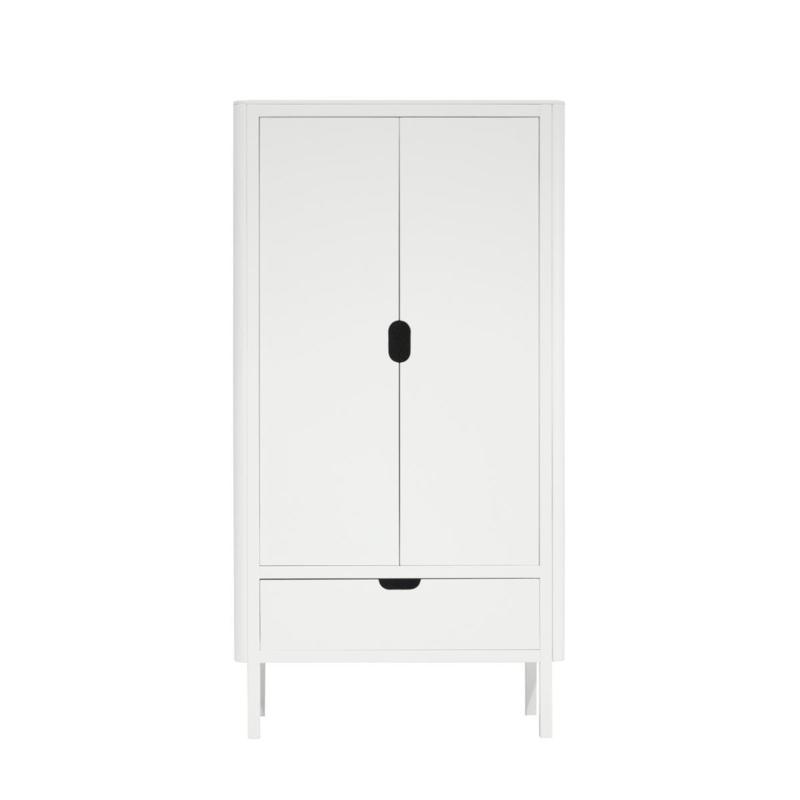 Sebra 2-deurs Kleding kast - Wit
