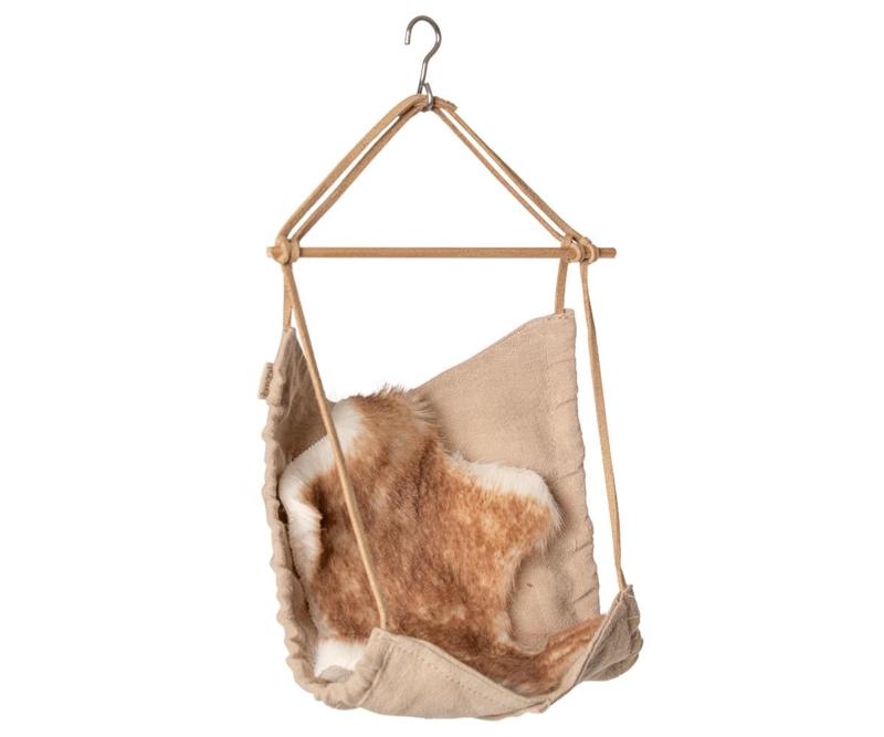 online te koop superieure kwaliteit Super korting Maileg Hanging Chair Hang Stoel - Poppenhuis | Maileg ...