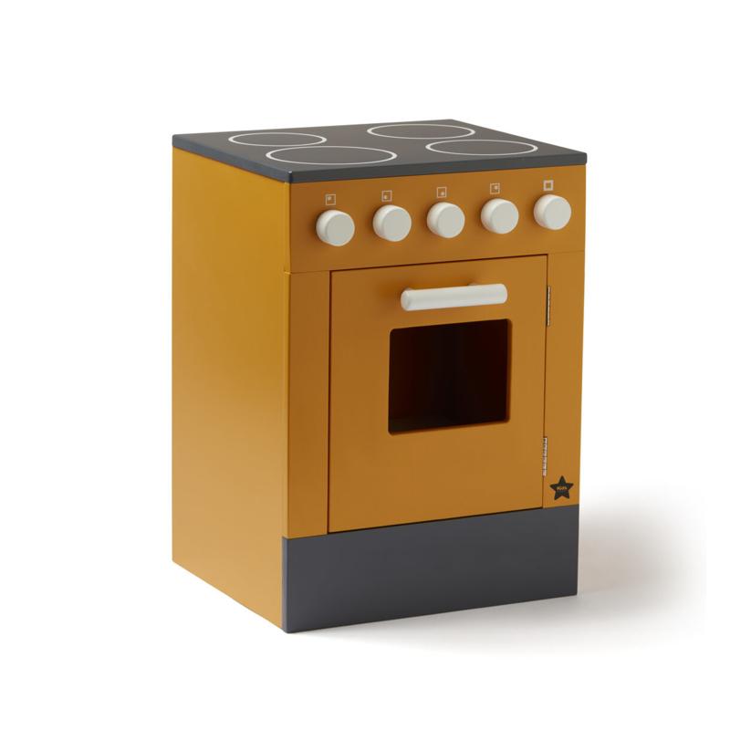 Kids Concept Houten Fornuis met Oven - Geel