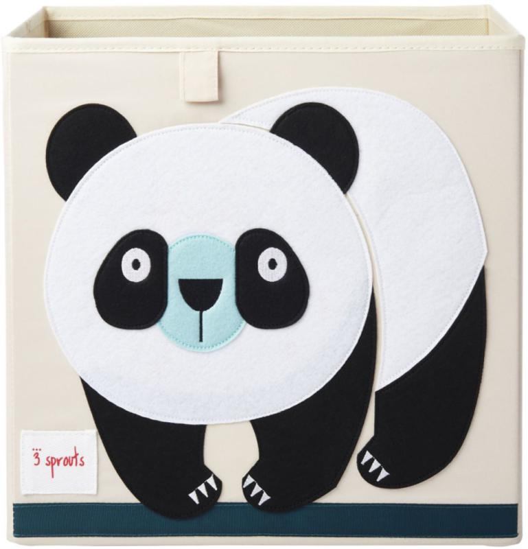 3 Sprouts Opbergdoos - Panda