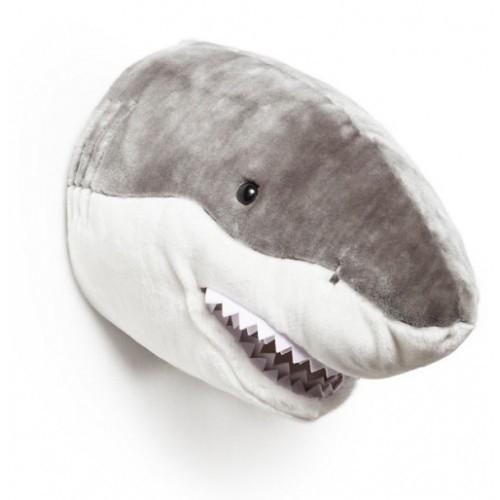 Wild and Soft Dierenkop - Haai
