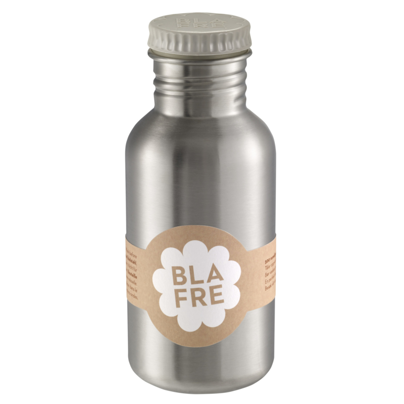 Blafre Drinkfles RVS - Grijs (500ml)