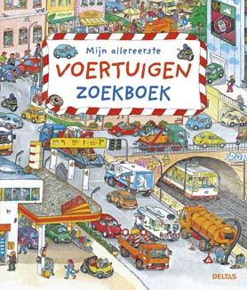 Uitgeverij Deltas Mijn Allereerste Voertuigen Zoekboek