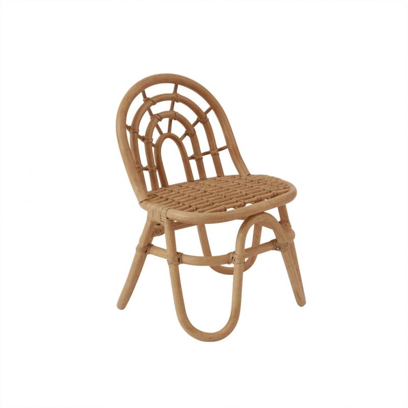 OYOY Rainbow Mini Chair Stoel - Bamboe