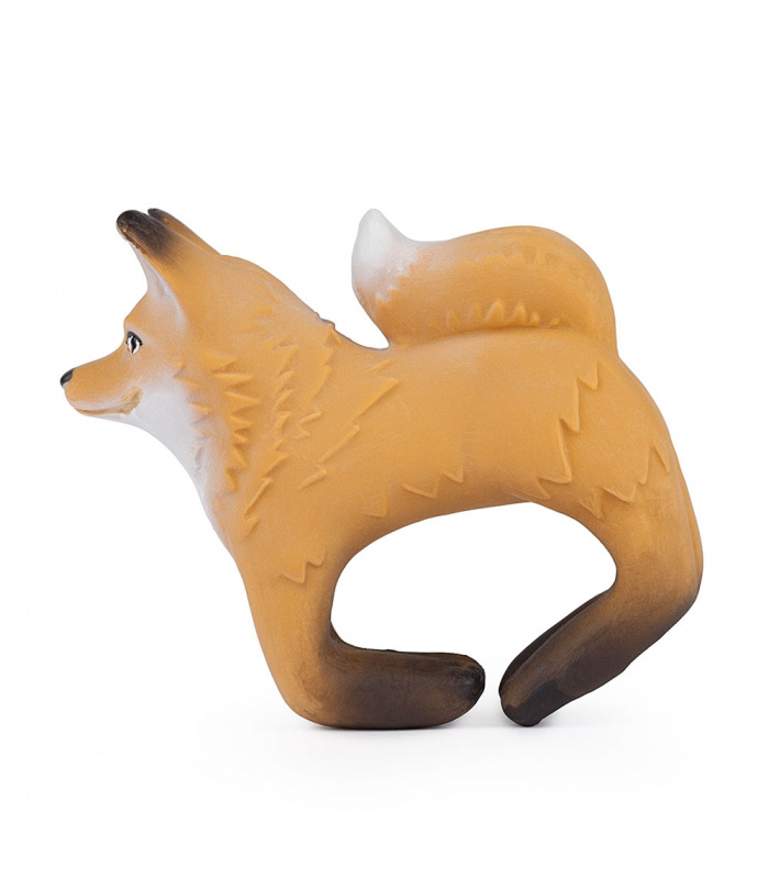 Oli and Carol Bad- en Bijtspeeltje Rob the Fox - Vos Armband