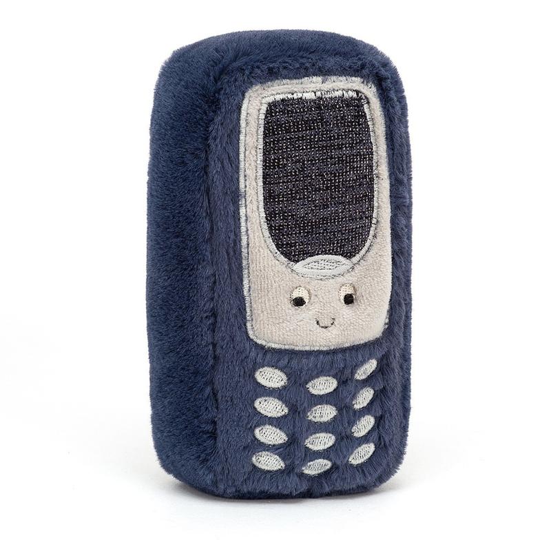 Jellycat Wiggedy Phone - Knuffel Mobiele Telefoon