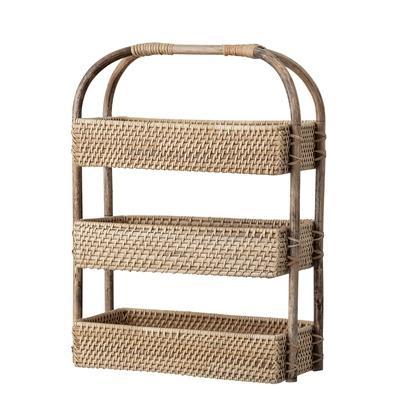 Bloomingville Opbergmand Etagère Rotan Basket - Nature