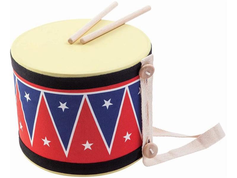 Plantoys Houten Trommel Big Drum II