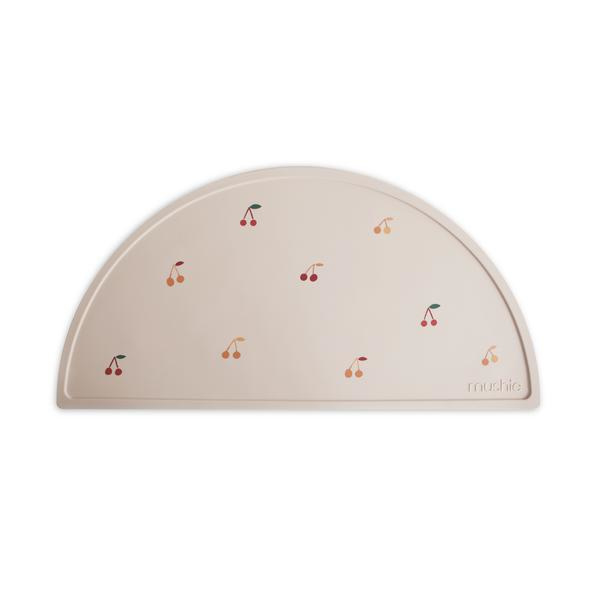 Mushie Placemat Silicone Place Mat - Cherry
