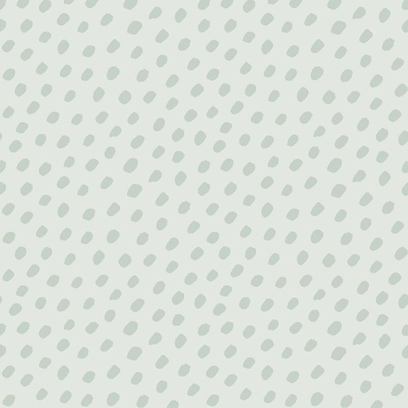 Lilipinso Australia Behang - Dots Green (H0429)